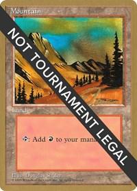 Mountain (C) - 1996 Eric Tam (4ED) card from World Championship Decks