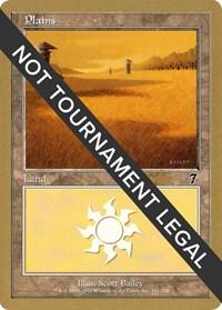 Plains (341) - 2002 Brian Kibler (7ED) card from World Championship Decks