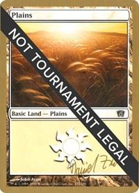 Plains (333) - 2003 Daniel Zink (8ED) card from World Championship Decks