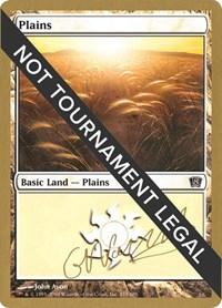 Plains (333) - 2004 Gabriel Nassif (8ED) card from World Championship Decks
