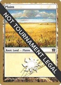 Plains (332) - 2004 Julien Nuijten (8ED) card from World Championship Decks