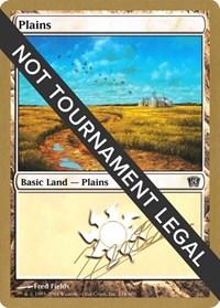 Plains (334) - 2004 Julien Nuijten (8ED) card from World Championship Decks