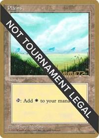 Plains (A) - 1996 Preston Poulter (4ED) card from World Championship Decks