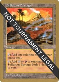 Sulfurous Springs - 1997 Jakub Slemr (5ED)