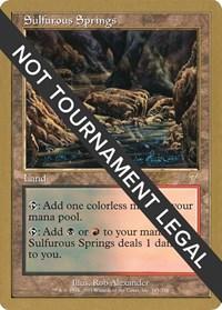 Sulfurous Springs - 2001 Tom van de Logt (7ED)