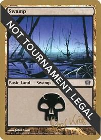 Swamp (340) - 2003 Peer Kroger (8ED) card from World Championship Decks