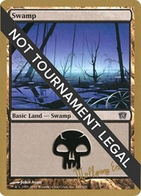 Swamp (340) - 2003 Wolfgang Eder (8ED) card from World Championship Decks