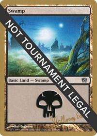 Swamp (339) - 2003 Wolfgang Eder (8ED) card from World Championship Decks