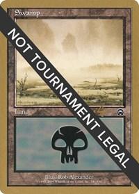 Swamp (341) - 2001 Tom van de Logt (MMQ) card from World Championship Decks