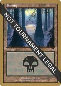Swamp (348) - 2001 Tom van de Logt (7ED) card from World Championship Decks