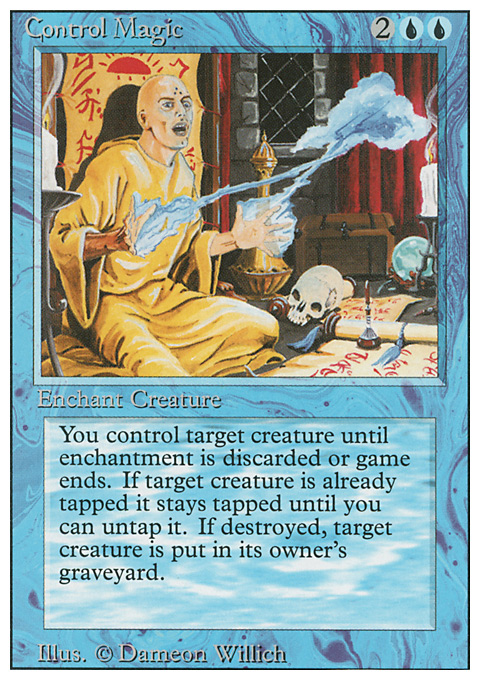 Control Magic card from Revised Edition