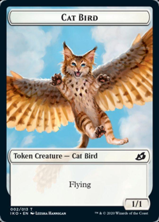 Cat Bird // Human Soldier (003) Double-sided Token