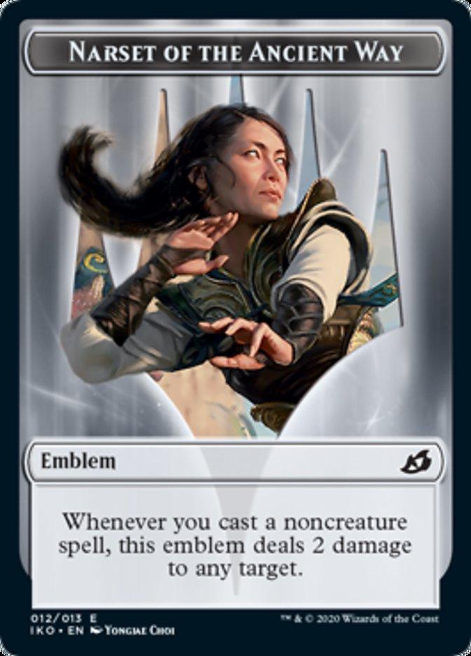 Emblem - Narset of the Ancient Way