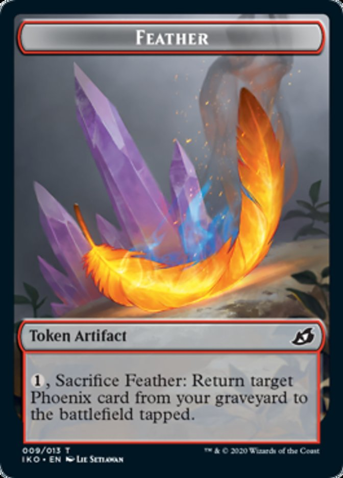 Feather // Human Soldier (005) Double-sided Token