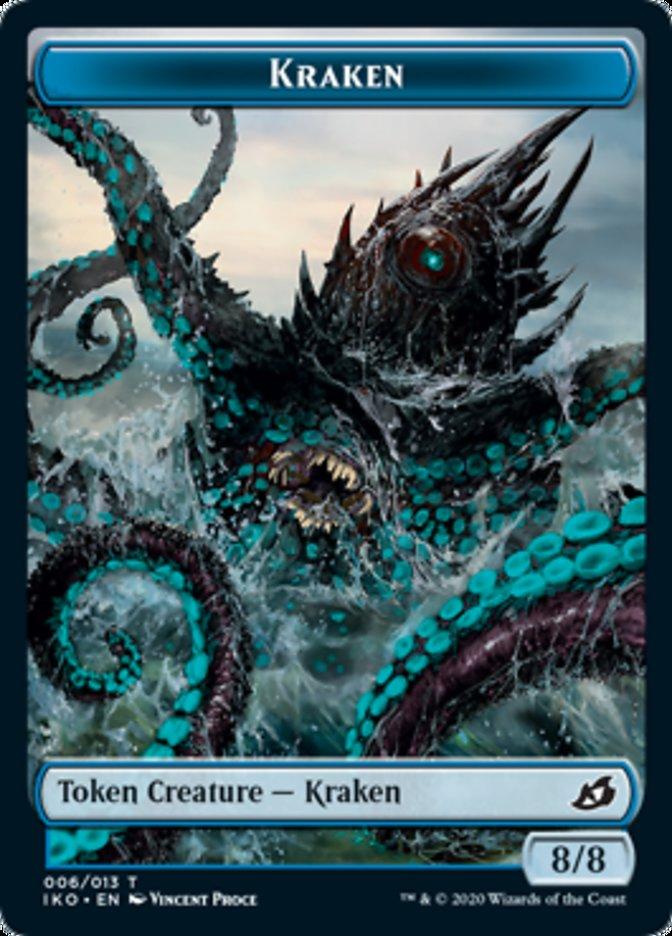Kraken // Human Soldier (004) Double-sided Token