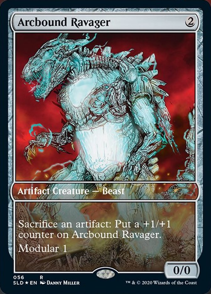Arcbound Ravager card from Secret Lair Drop Series