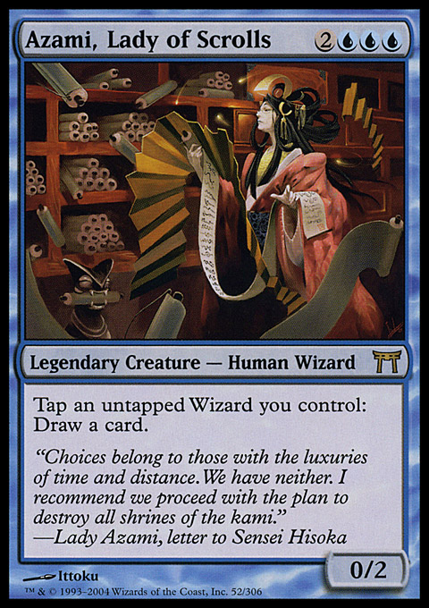 Azami, Lady of Scrolls original card image