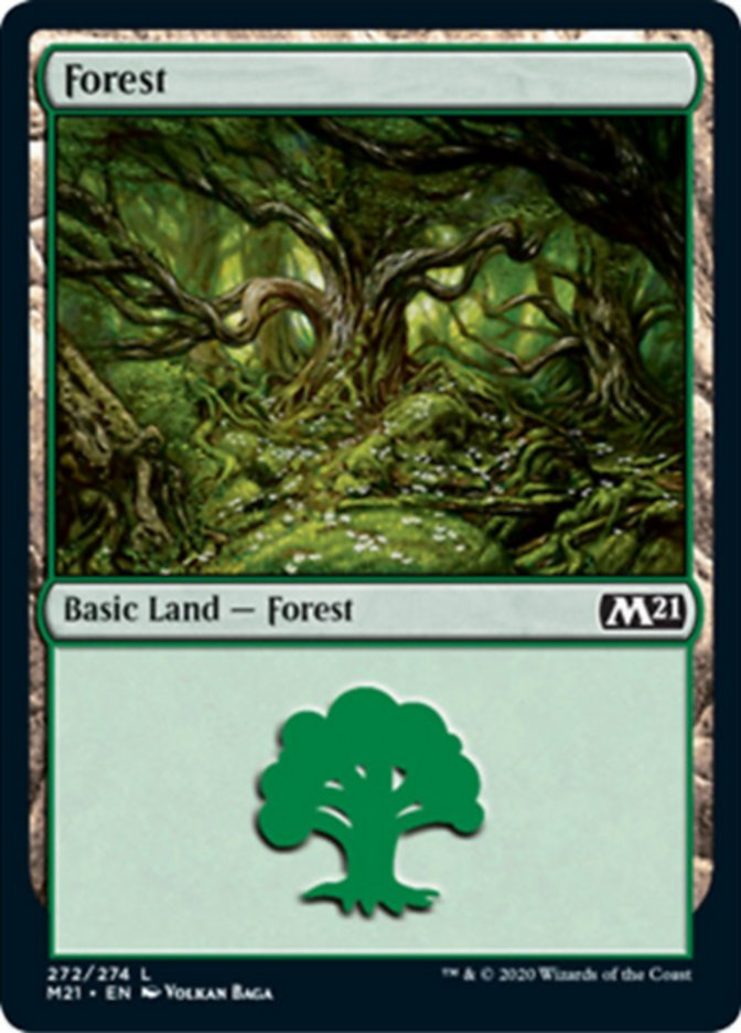 Forest card from Core Set 2021