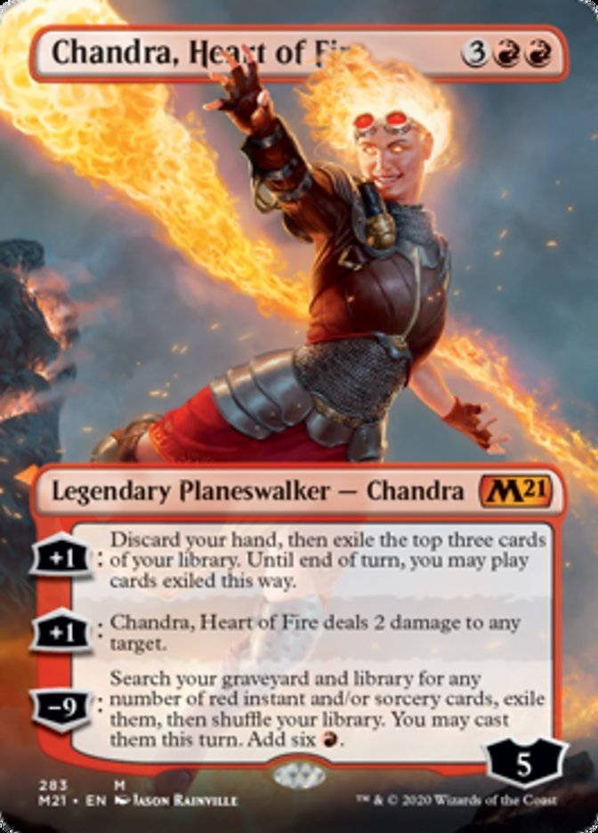 Chandra, Heart of Fire (Borderless)