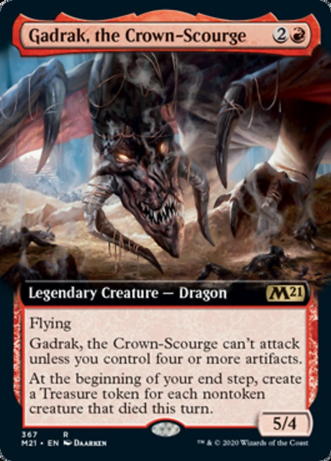 Gadrak, the Crown-Scourge (Extended Art)