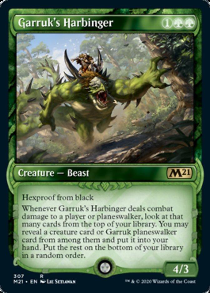 Garruk's Harbinger (Showcase)