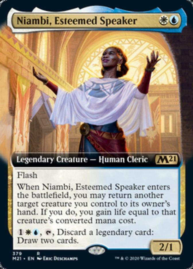 Niambi, Esteemed Speaker (Extended Art)