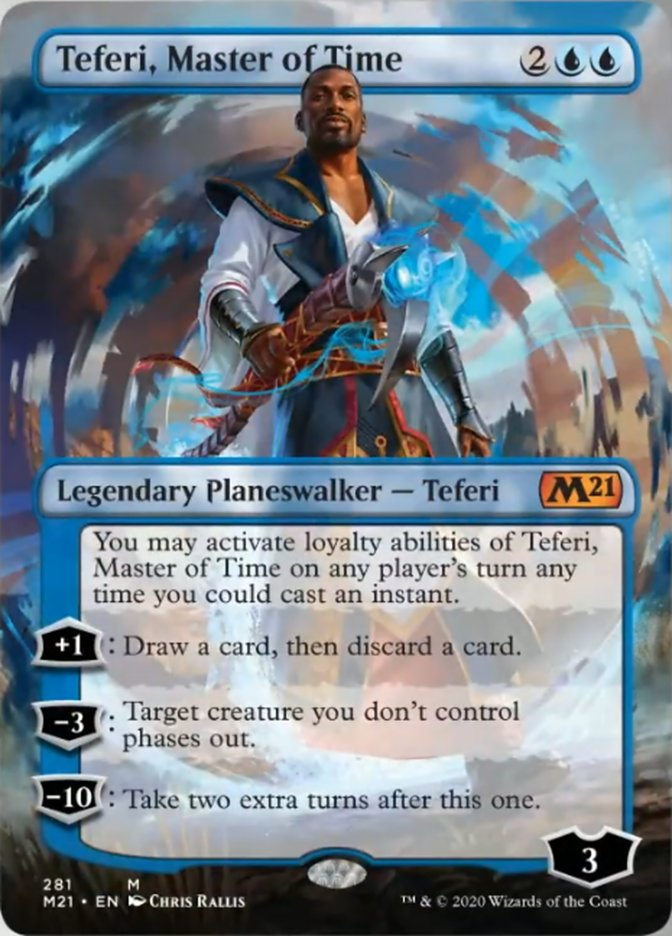 Teferi, Master of Time (Borderless)