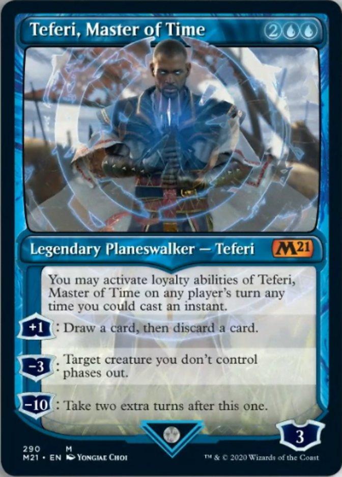 Teferi, Master of Time (Showcase) (290)