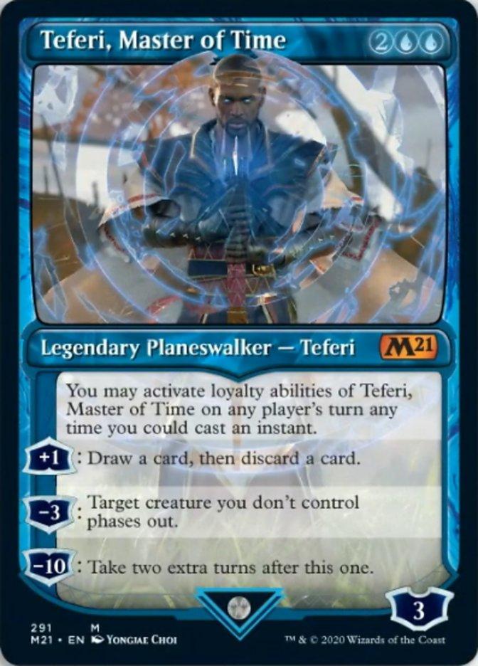 Teferi, Master of Time (Showcase) (291)