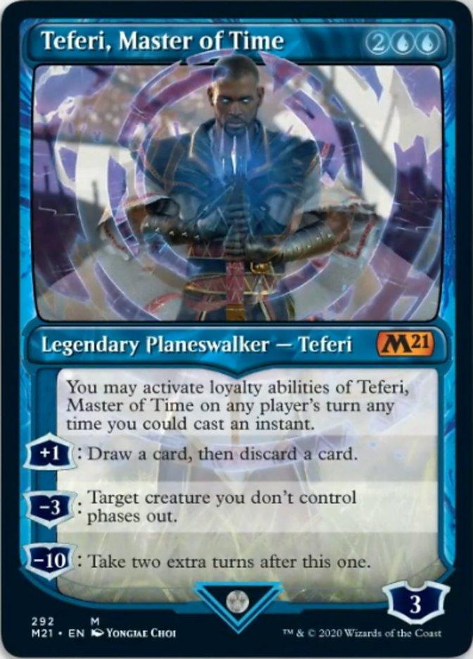 Teferi, Master of Time (Showcase) (292)