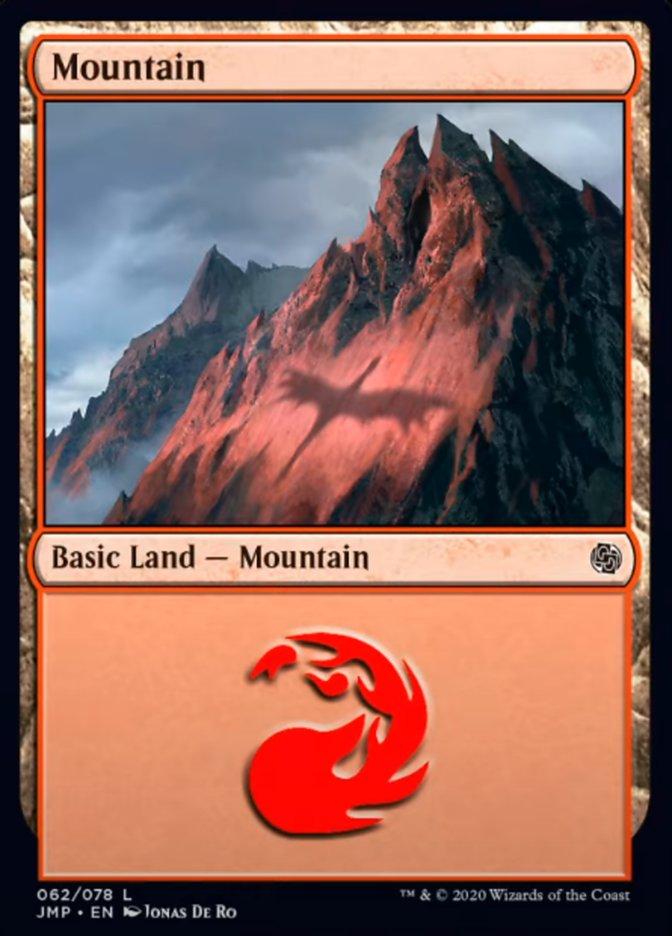 Mountain (62) card from Jumpstart