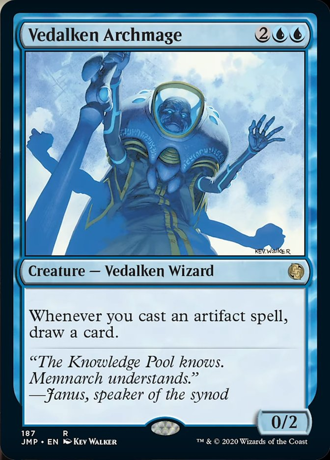 Vedalken Archmage card from Jumpstart