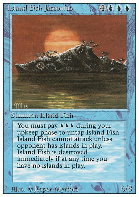Island Fish Jasconius