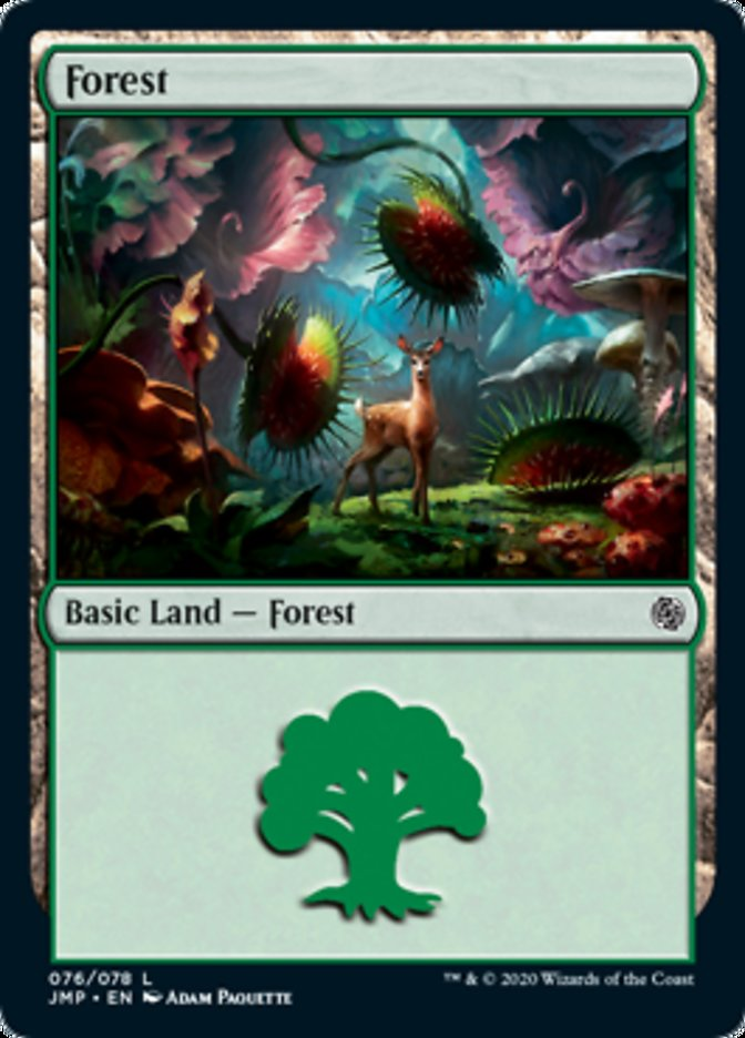 Forest (76) card from Jumpstart