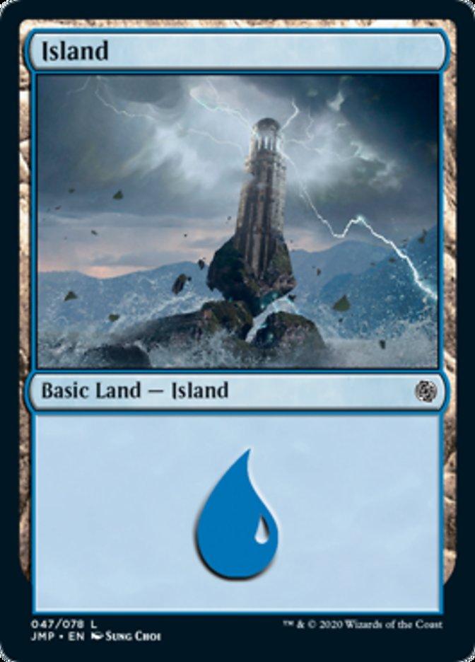 Island (47) card from Jumpstart