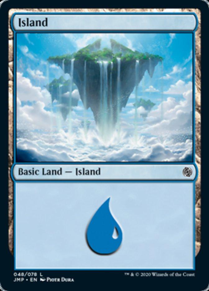 Island (48) card from Jumpstart