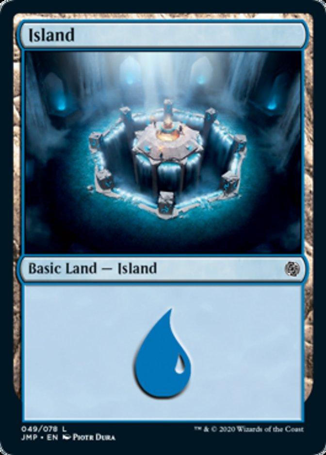 Island (49) card from Jumpstart