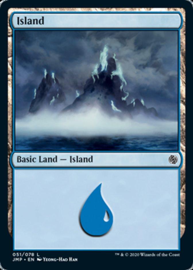 Island (51) card from Jumpstart