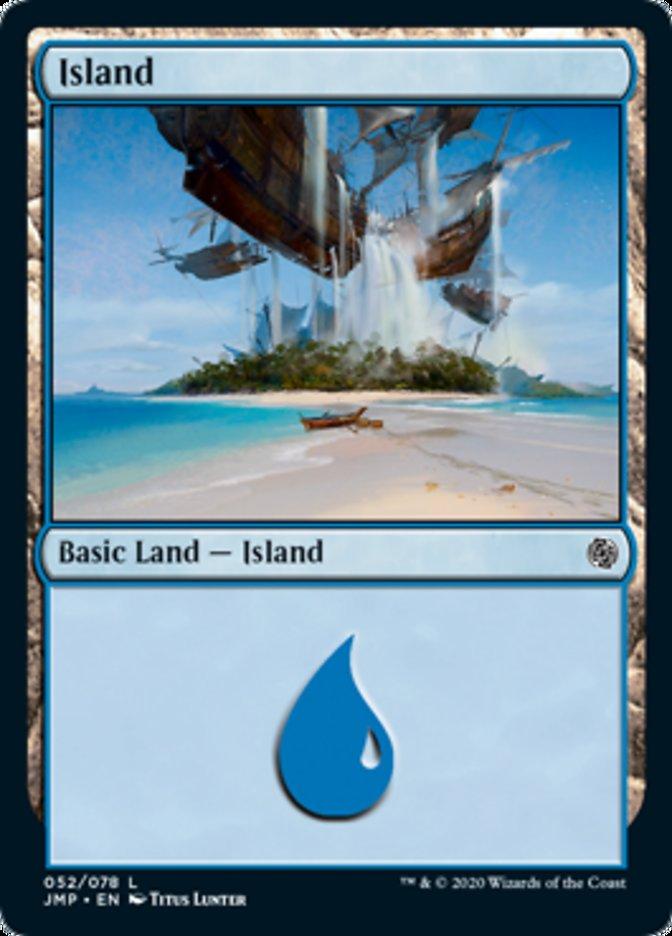 Island (52) card from Jumpstart