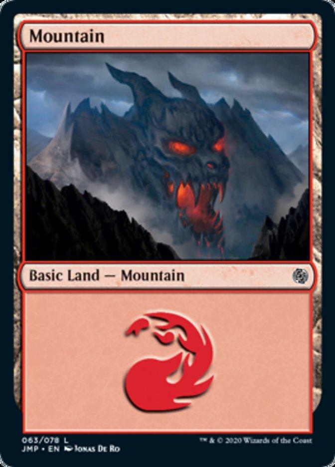 Mountain (63) card from Jumpstart