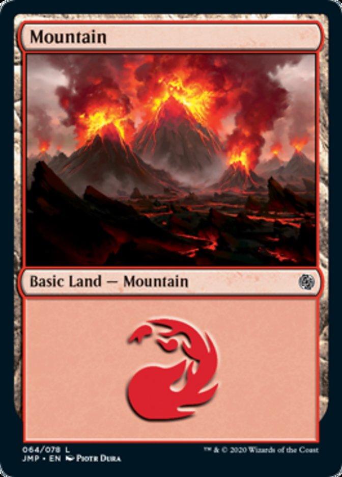 Mountain (64) card from Jumpstart