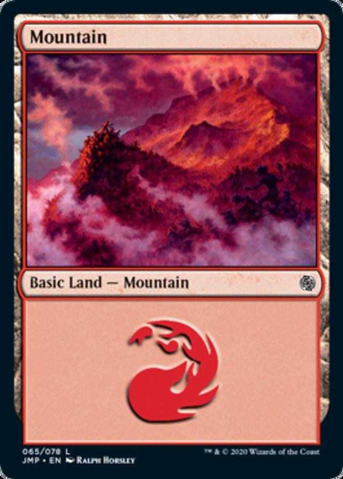Mountain (65) card from Jumpstart
