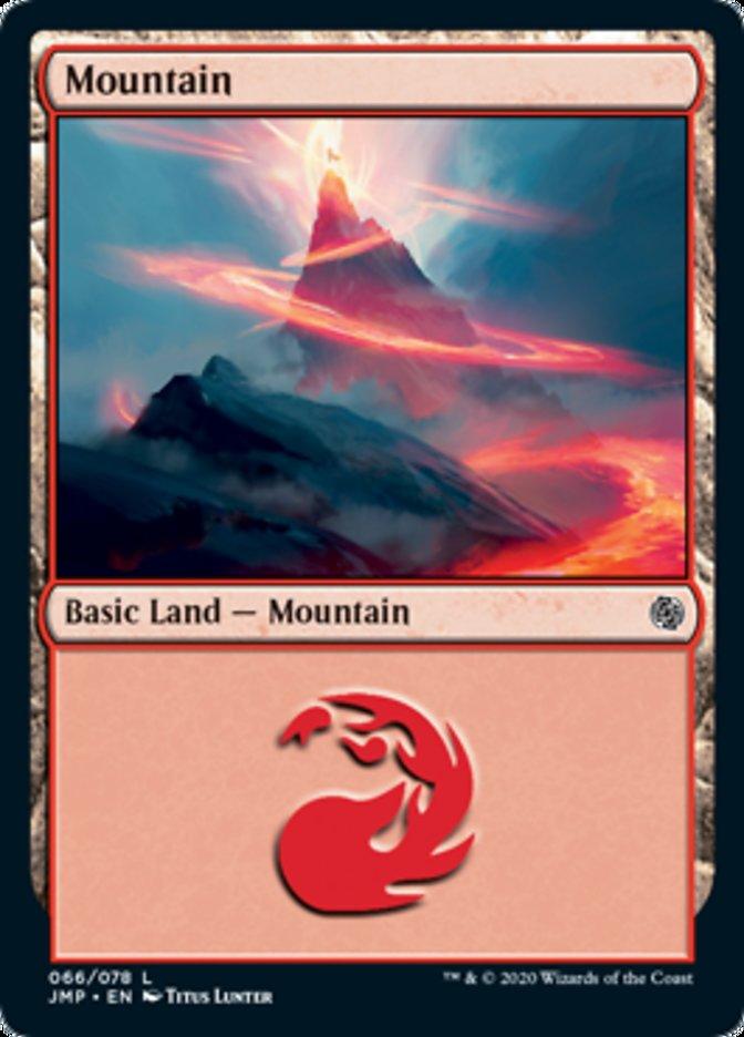 Mountain (66) card from Jumpstart