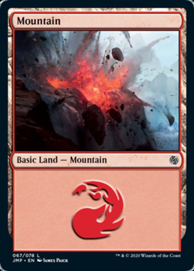 Mountain (67) card from Jumpstart