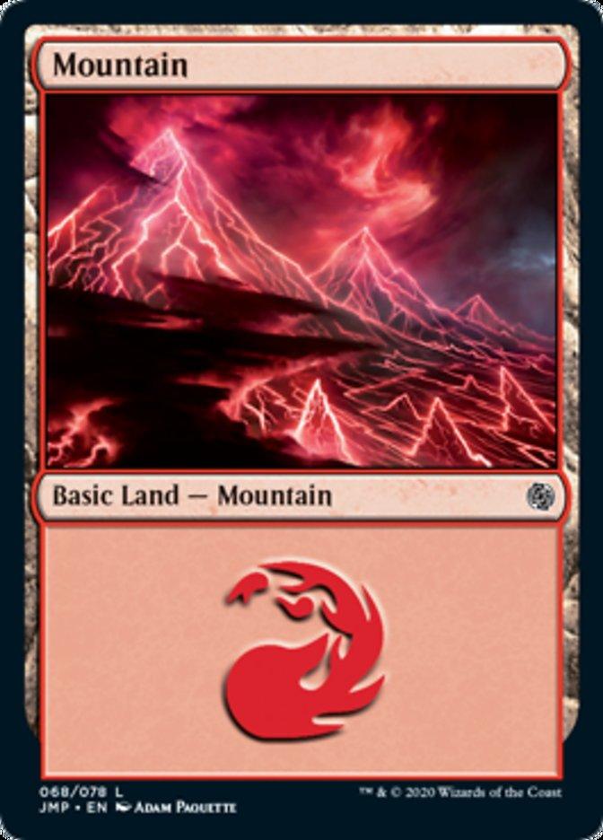 Mountain (68) card from Jumpstart