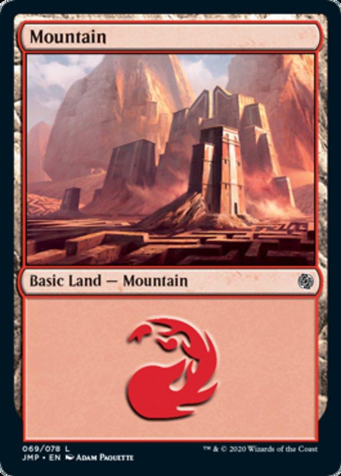 Mountain (69) card from Jumpstart