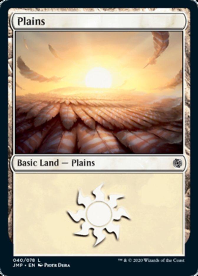 Plains (40) card from Jumpstart