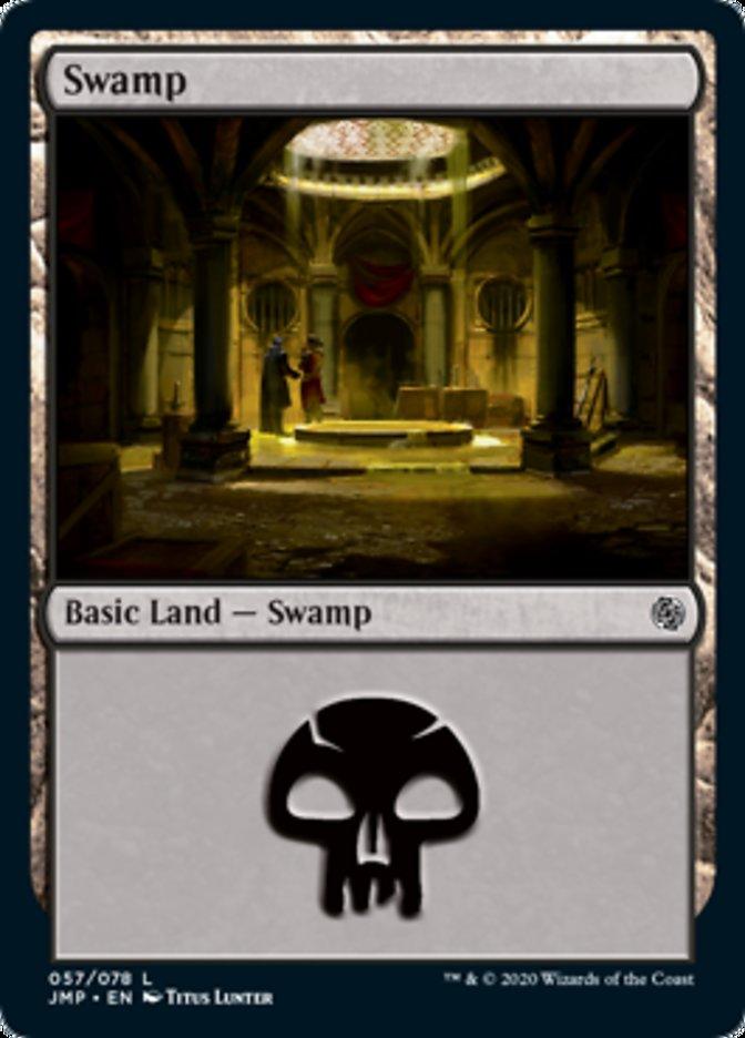 Swamp (57) card from Jumpstart