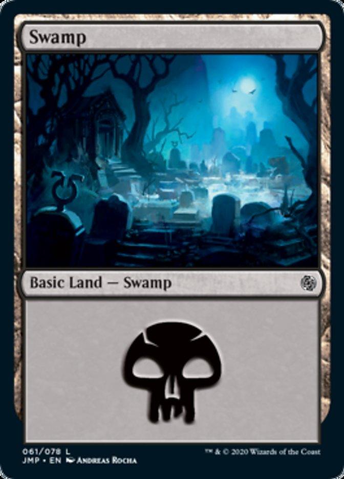 Swamp (61) card from Jumpstart