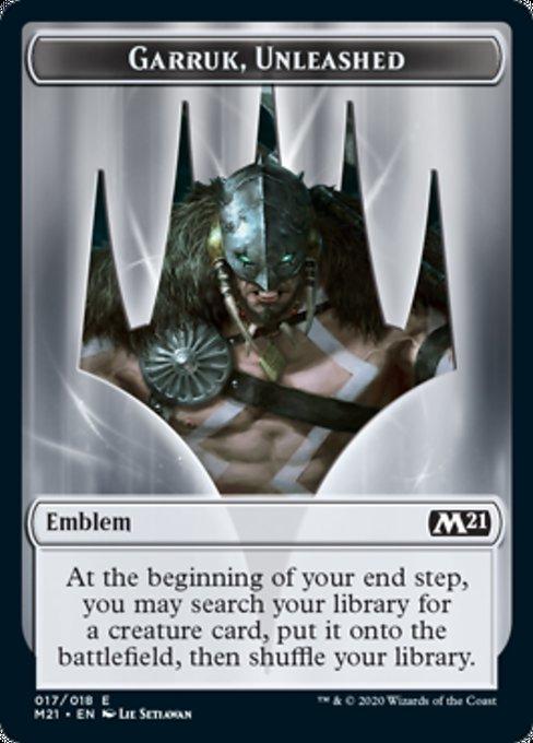 Emblem - Garruk, Unleashed